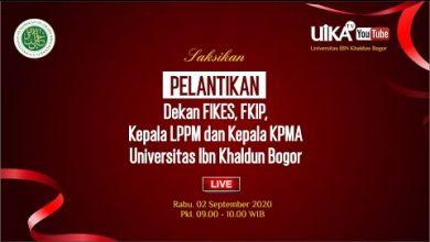 Photo of Pelantikan Dekan FIKES, FKIP, Kepala LPPM dan Kepala KPMA