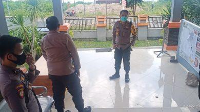 Photo of Pantau Situasi Kamtibmas, Kapolres Banggai Cek Pengamanan Kantor KPU dan Bawaslu