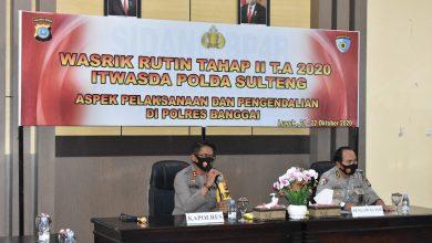Photo of Kapolres Banggai Sambut Tim Wasrik Itwasda Polda Sulteng