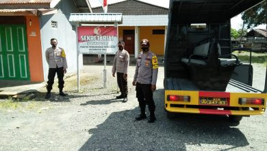 Photo of Kantor PPK dan Panwascam  Serta Posko Pemenangan Paslon Jadi Obyek Patroli Rutin Polsek Toili
