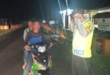 Photo of Kaposlek Lamala Ingatkan Masyarakat Disiplin Berlalu Lintas dan Protokol Kesehatan